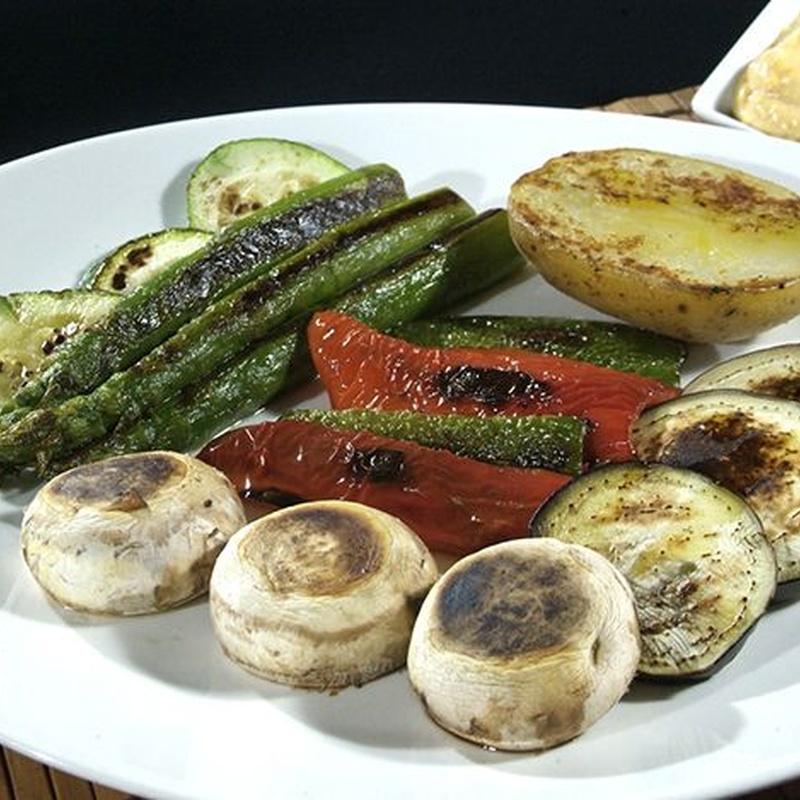 Parrillada de verduras: Carta y Menús de Cantarradas