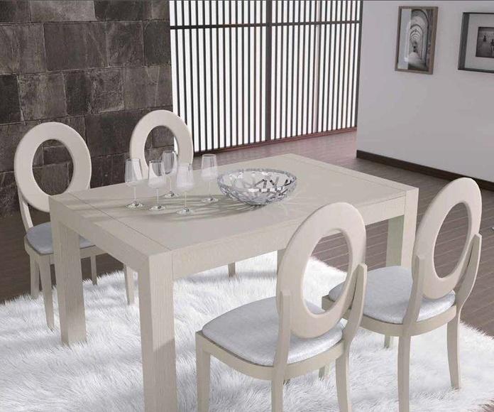 Colección mesas y sillas