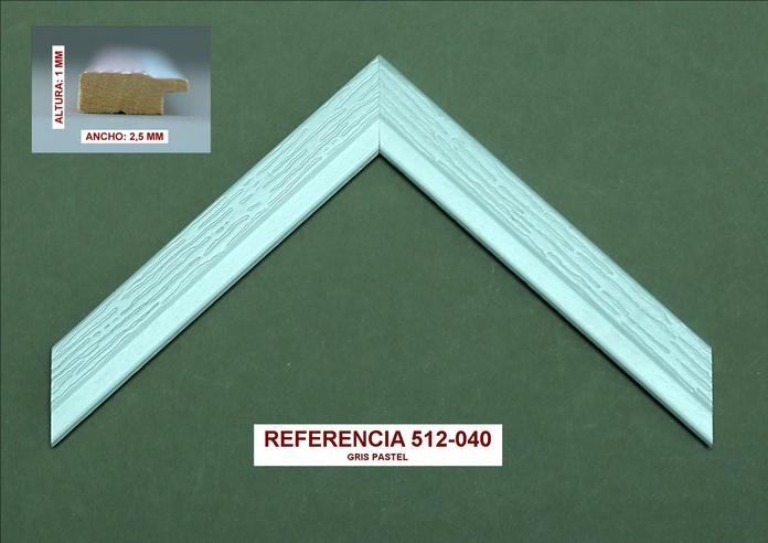 Referencia 512-040: Muestrario de Moldusevilla