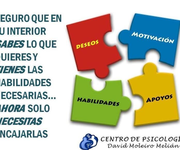 Coaching Personal: Tratamientos o terapias de DAVID MOLEIRO MELIÁN