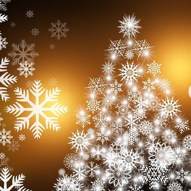 Decoración navideña con vinilos
