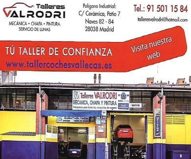 TALLER DE COCHES EN MORATALAZ