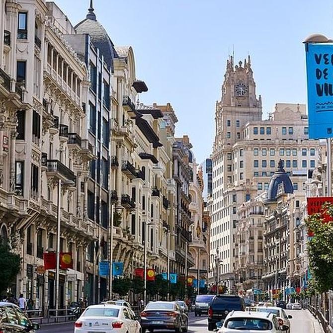 Contaminación acústica Madrid Centro