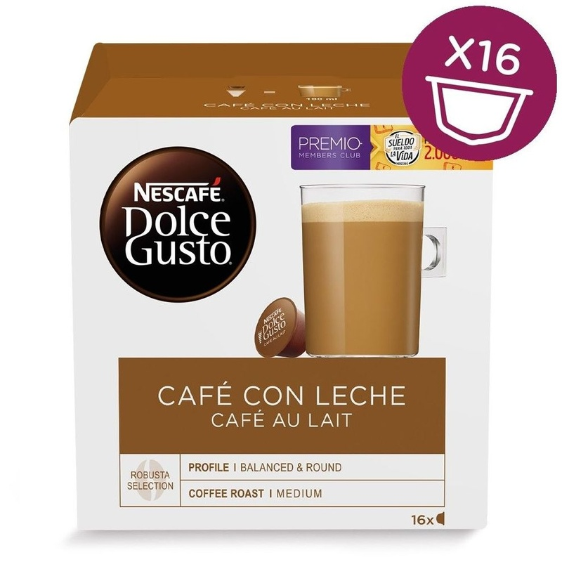 Capsulas de cafe con leche: Catálogo de Sur Vending Coffee S.L.