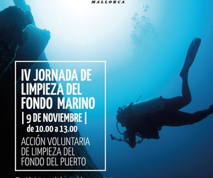 IV Day of Cleaning of the seabed Club de Mar Mallorca
