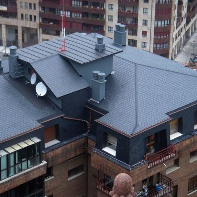 Ventajas de los tejados de pizarra