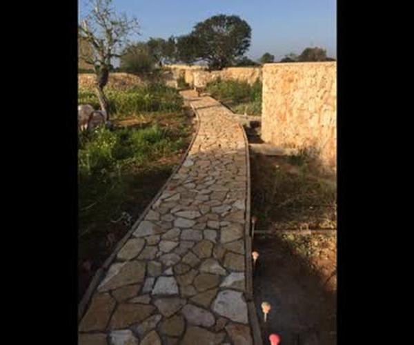Pavimento de piedra Mallorquina