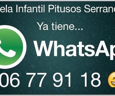 Ya tenemos whatsapp !!!