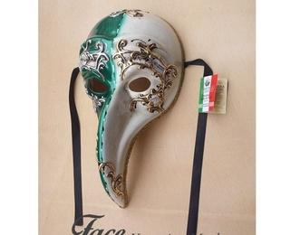 Máscaras pintadas a mano El Turco