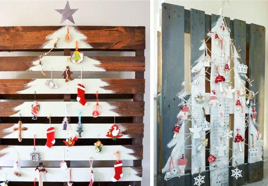 Esta Navidad, decora con palets usados