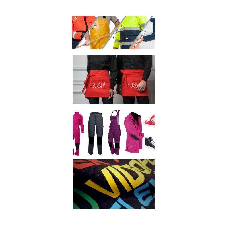 Marcaje textil: Catálogo de Angava