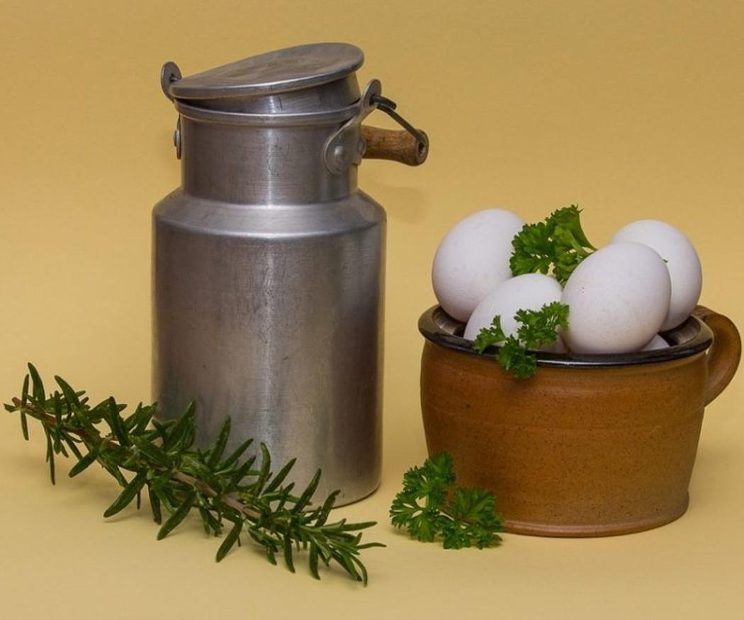 Los batidos de proteínas con claras de huevo