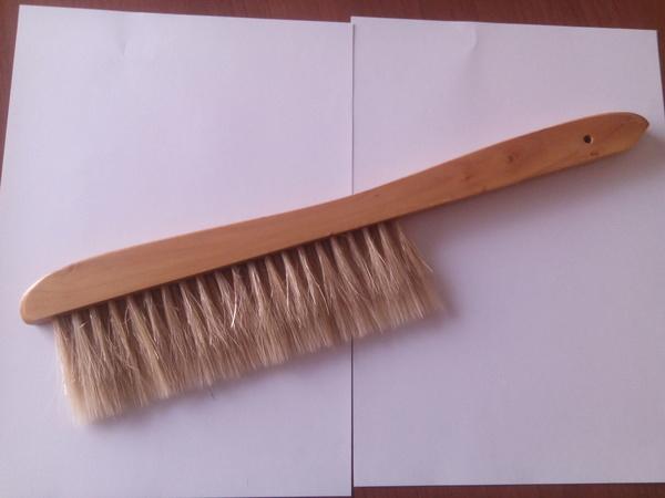 Cepillo doble fila mango madera barnizado: Productos de Río de la Miel