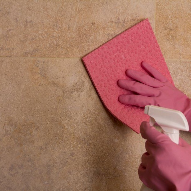 El amoníaco en la limpieza