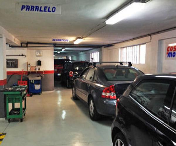 Taller de neumáticos en Chamartín