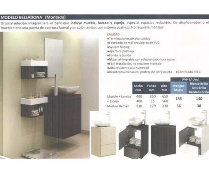 Modelo Belladona - Modelo Jazz: Materiales de construcción de F. Campanero Materiales Construcción, S.L.