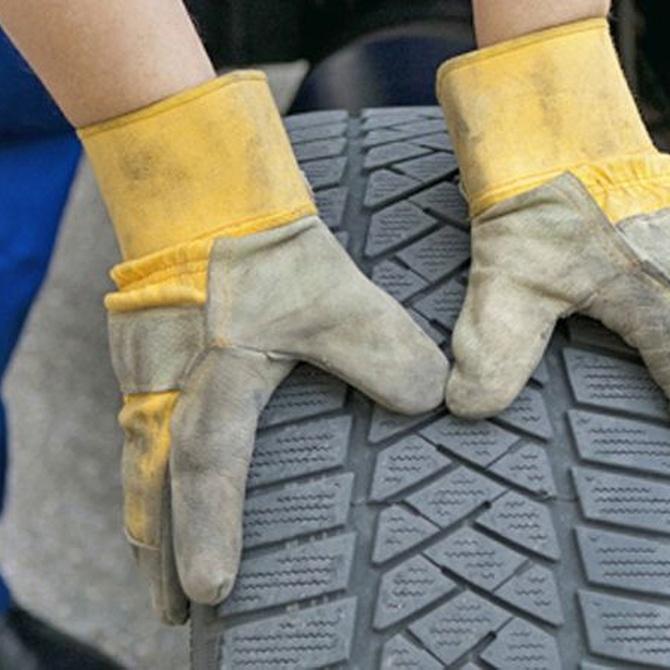 Tipos de desgaste de los neumáticos