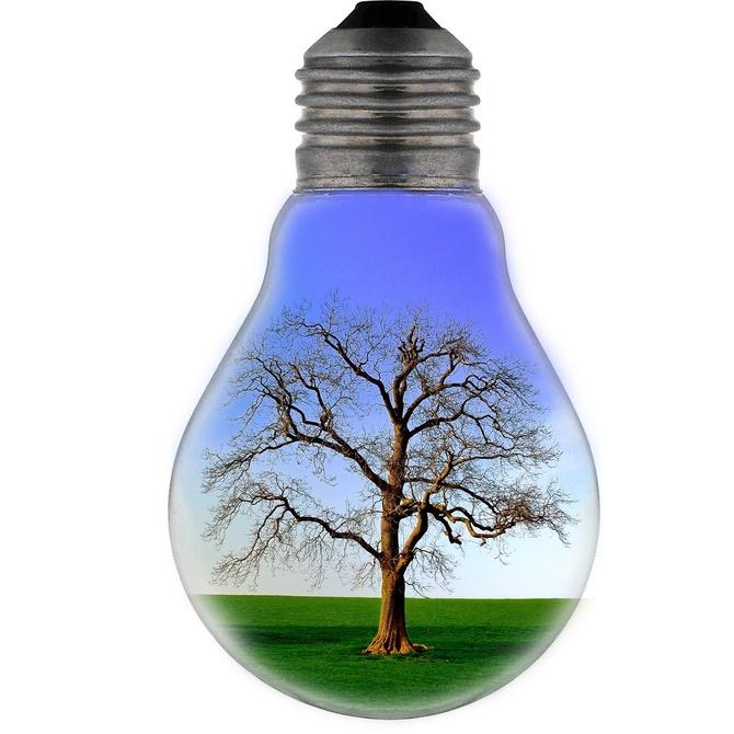 La iluminación ecológica con luces led
