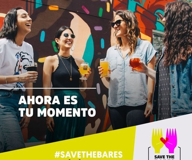 "Estamos en ""Save The Bares"""