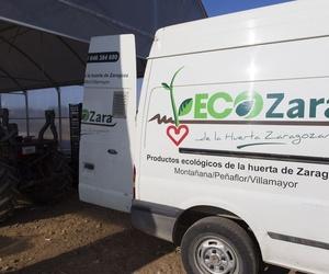 Productos ecológicos de la huerta de Zaragoza