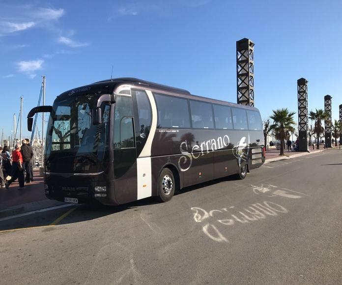 Transporte de ocio: Servicios de Autocares Serrano