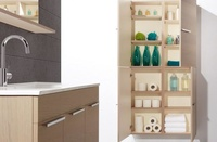 Mueble de baño Vidrebany colección Top modelo Up