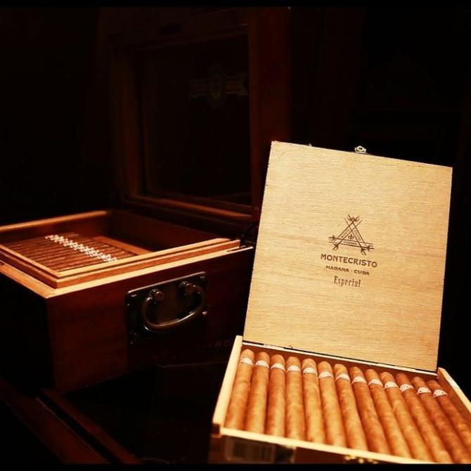 Una caja especial para conservar los puros en casa