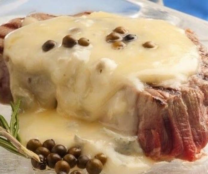 Solomillo de Cerdo al Roquefort: CARTA EL SEVILLANO de Restaurante Sevillano