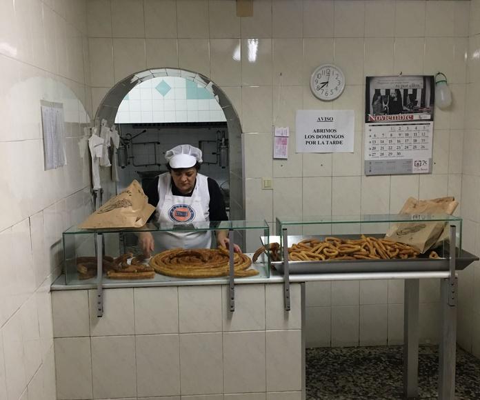 Repartos a tiendas: Servicios de Churrería El Pradillo