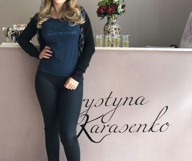 Khrystyna karasenko, Extensiones de Pestañas pelo a pelo valencia