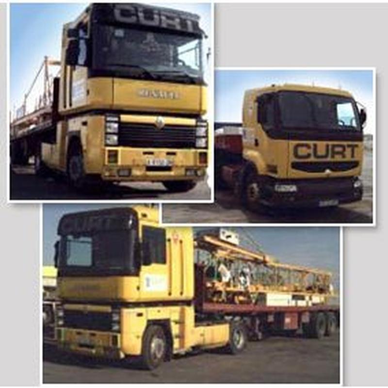 Transportes: Servicios de Grúas y Transportes Curt