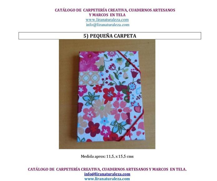 Carpetería, cuadernos y marcos: Mis creaciones de Lira Naturaleza