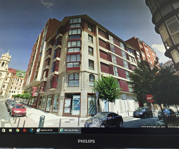 Edificio en c/ Valliciergo de Santander