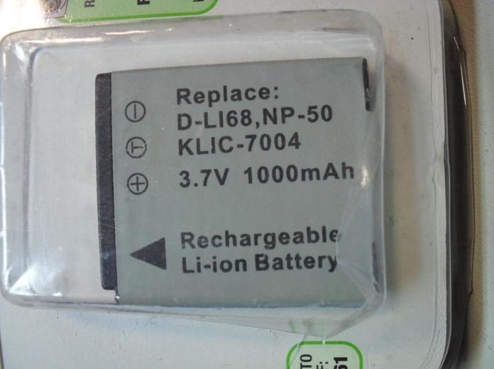 Batería NP-50: Reparaciones de Playmon Servicios Técnicos Fotográficos