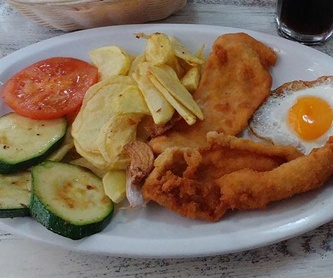 Tapas: Menú de Hamburguesería Lina