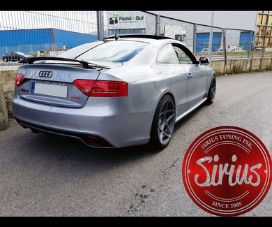 Audi RS5 - 3SDM & H&R