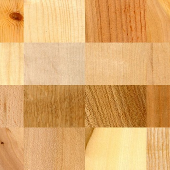 Tipologías de madera y sus características