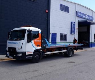 Instalaciones: servicios y vehiculos de Virolla
