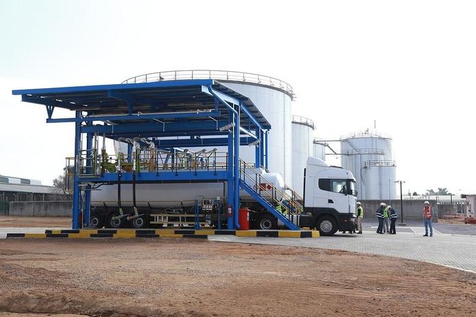 Transporte de combustible: Servicios de Gasóleo Martín