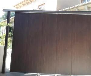 Puerta seccional corredera lateral automática Farem Agma