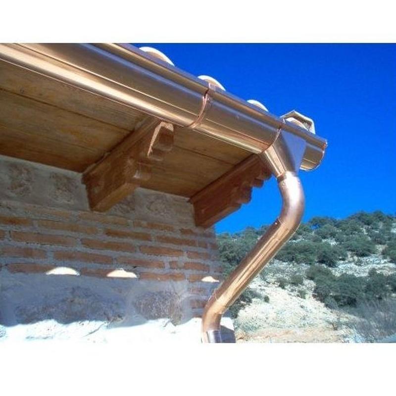 Canalones: Productos y servicios de Todo Canalón Pluvial, S. L.