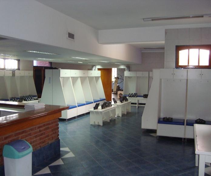Limpieza de vestuarios: Servicios de Limpiezas Frederic