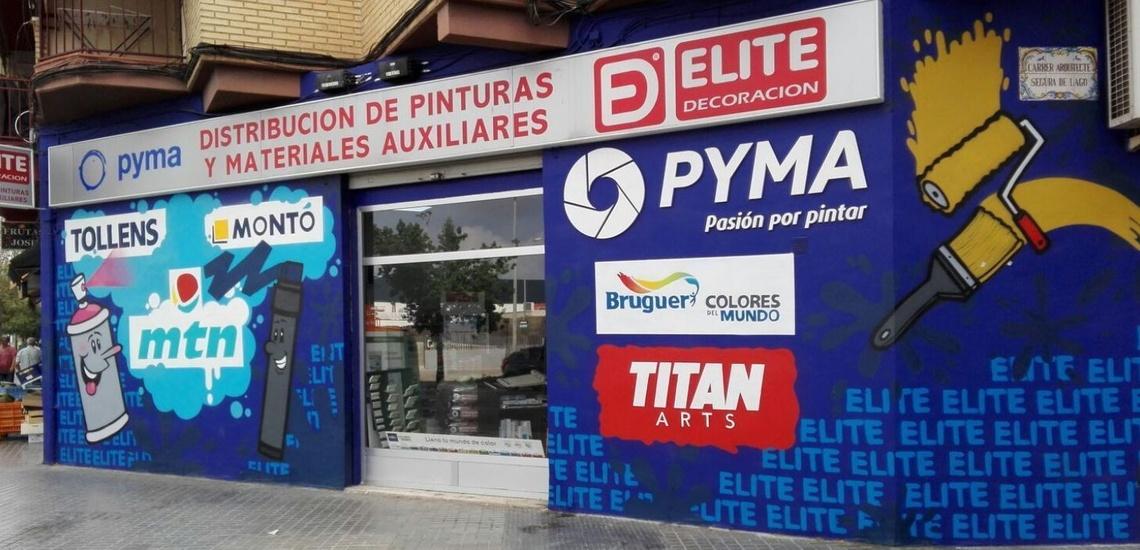 Élite Pinturas vende pintura de fachadas en Valencia