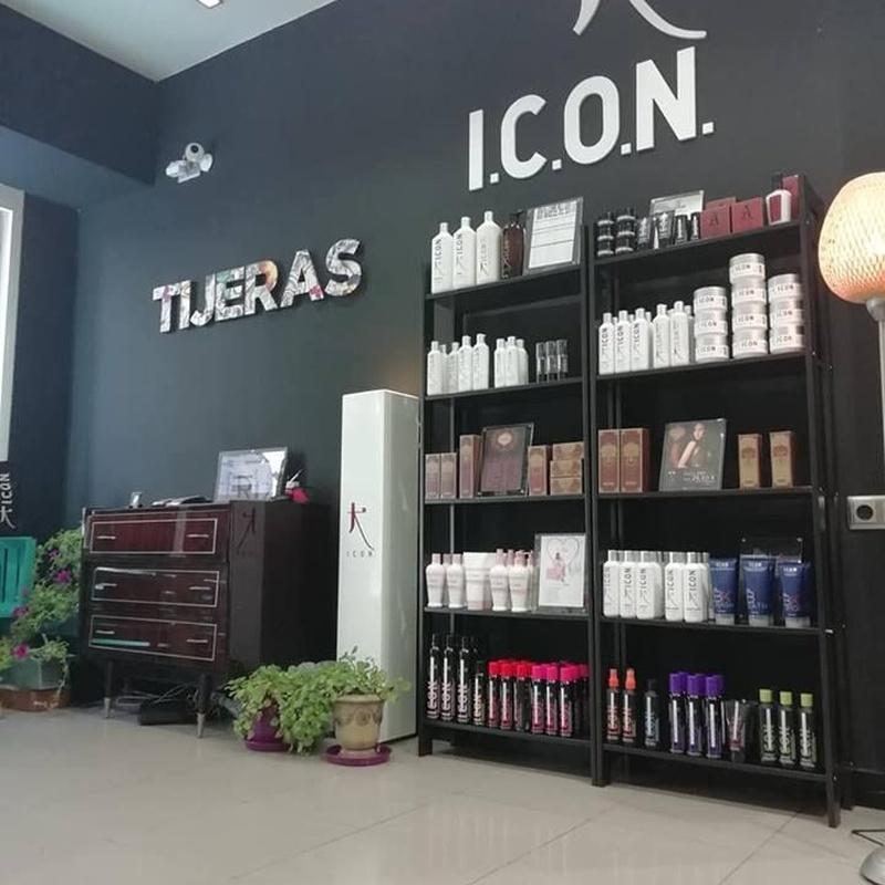 Venta de productos I.C.O.N: Servicios de Peluquería Tijeras