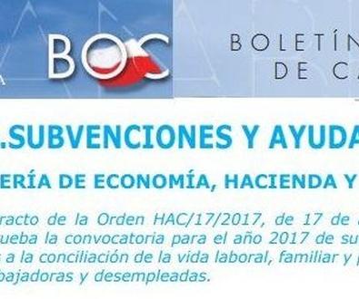 Subvenciones y ayudas  guarderías y escuelas infantiles Gobierno de Cantabria 2018