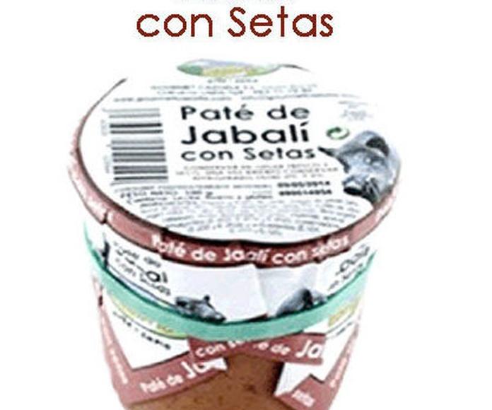PATÉ DE JABALÍ CON SETAS: Productos y servicios de Pausa Proyectos y Distribución S.L.