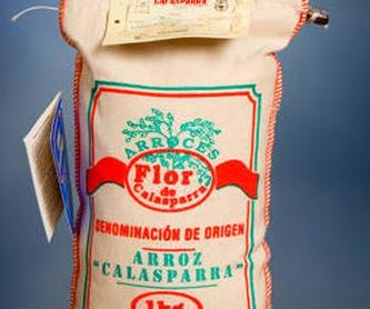 Servicios: PRODUCTOS|TIENDA ONLINE de Arroces Flor de Calasparra