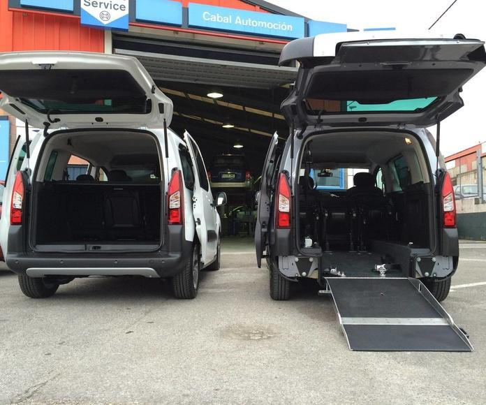 Adaptación de vehículos en Mieres.