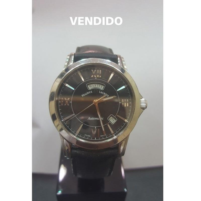 Maurice Lacroix - Pontos day date: Compra Venta de Oro y Plata de MR. SILVER & GOLD