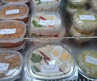 Menú: Pollo asado y comida casera de Asadero de pollos Jerusalén